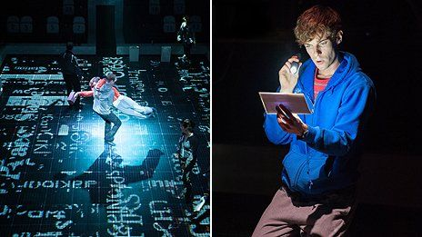 the curious incident of the dog in the night time at national theatre london