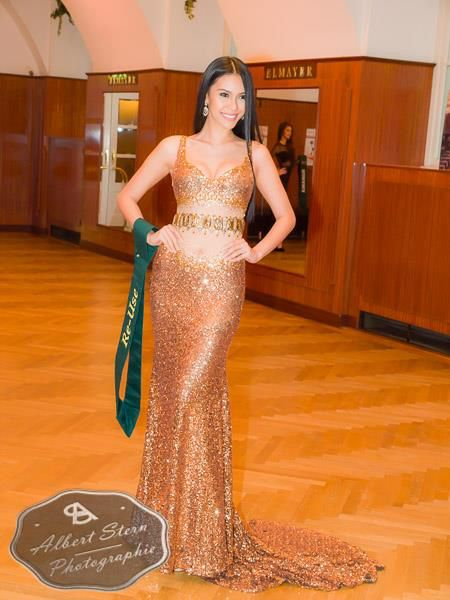 Miss Philippines - Angelia Ong  posing during the evening gown parade as part of the activities of Miss Earth 2015 #Coverage #MissEarth2015 #BeautyPageant #Austria #ZarDeMisses #BeautiesForACause