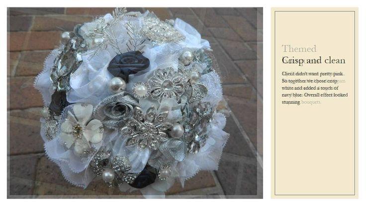 Vintage Broche Wedding Bouquets