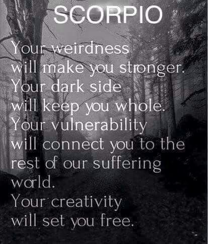 Scorpio ♡ With optimal health often comes clarity of thought. Click now to visit my blog for your free fitness solutions