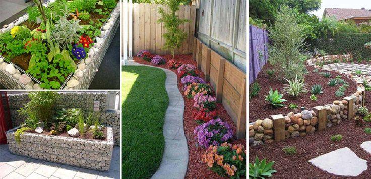 Fantasztikus kerti szegély ötletek! Így lehet káprázatos a kerted!
