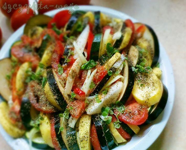 zapiekanka z sezonowych warzyw