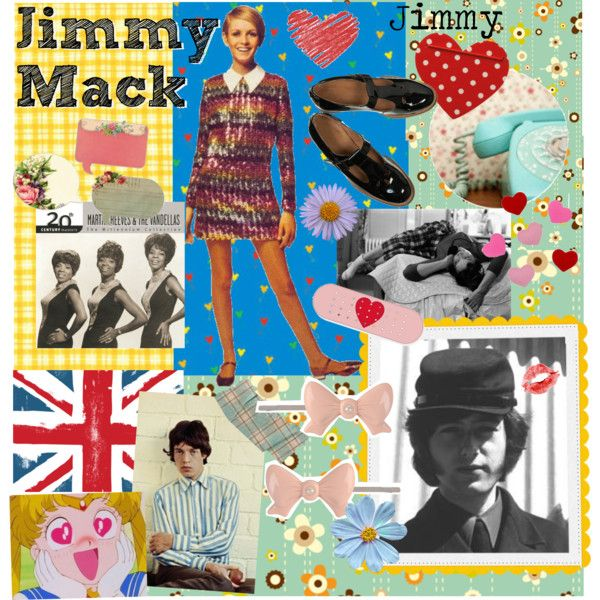 Jimmy Mack by janislovepinups on Polyvore featuring arte