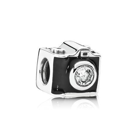 Camera Silver Charm - 791709CZ - Charms | PANDORA