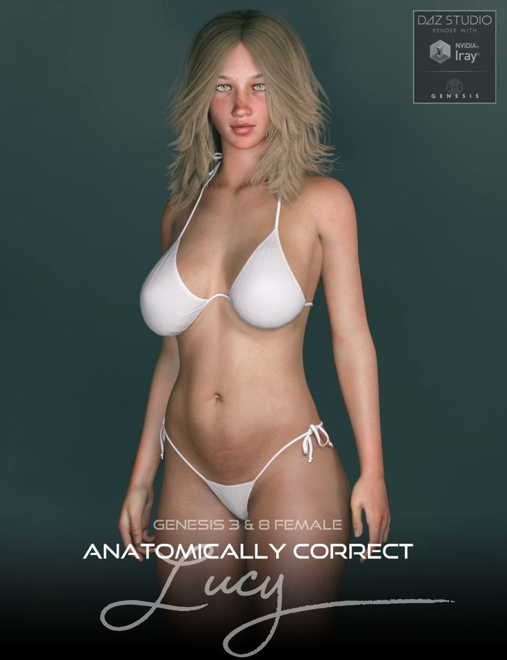 NEW Anatomically Correct: Lucy for Genesis 3 and Genesis 8 Female http://www.most-digital-creations.com/poser_daz_studio_all_products.htm