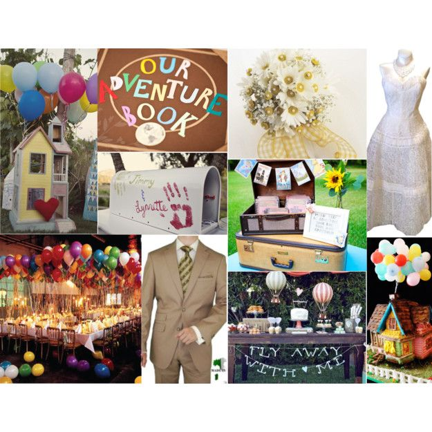 Up themed wedding.....I how I wish Drew would let me do this!!!!