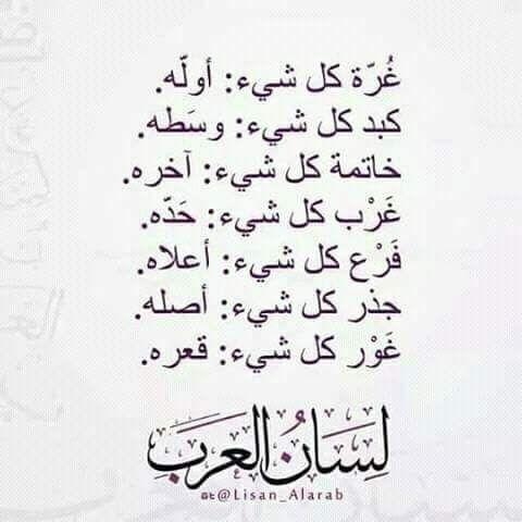 لسان العرب