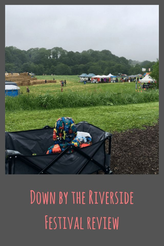 Down by the Riverside festival in Dolphinholme, Lancaster. A family festival of theatre and music #Lancaster #UK