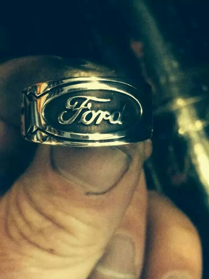 Ford Ring, in which I ABSOLUTELY want.