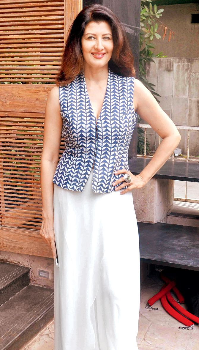 Sangeeta Bijlani at the launch of a fashion store by @anitadongre. #Bollywood #Fashion #Style #Beauty