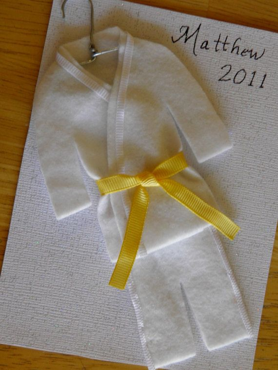 Martial Arts Uniform Ornament - Personalized To Match YOUR Uniform by ChristmasGal