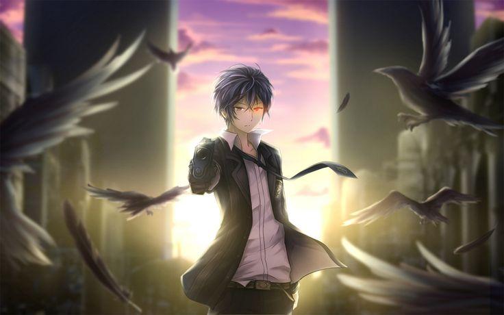 Anime Black Bullet  Rentaro Satomi Gun Crow Wallpaper