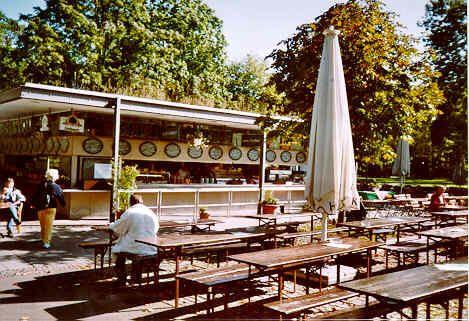 Biergarten Stuttgart am Sclossgarten.