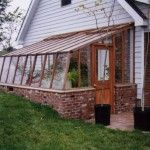 Lean to Greenhouse Kits Are Designed to Easily Attach to an Existing Structure