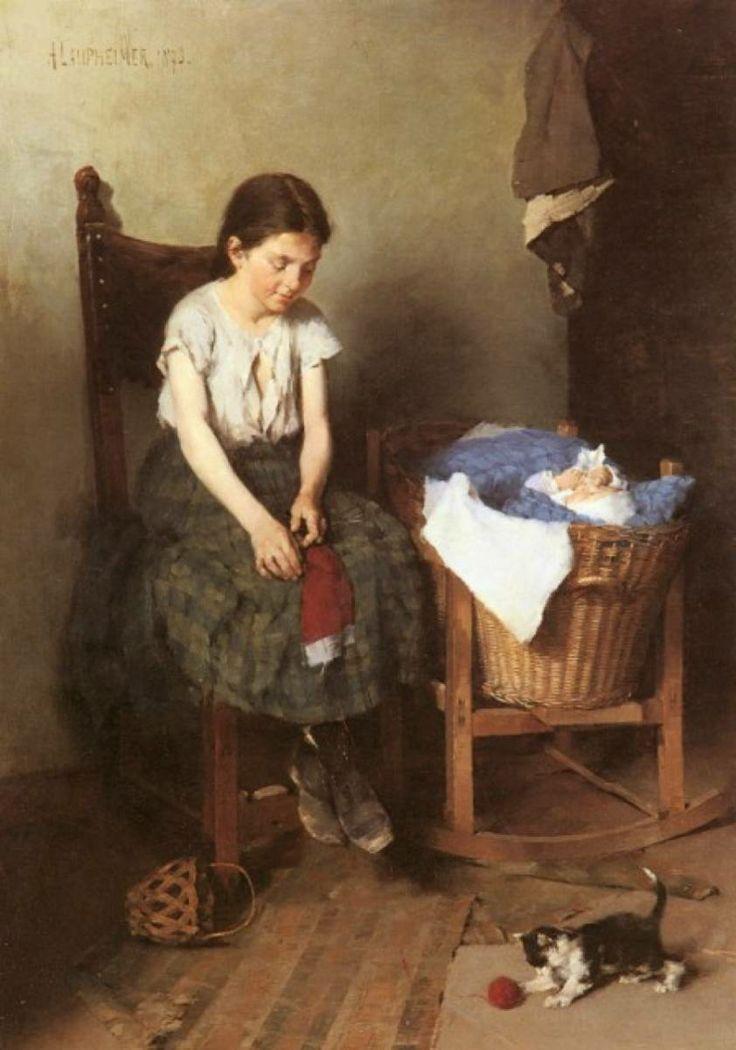 Anton Laupheimer (Alemania, 1848-1927).