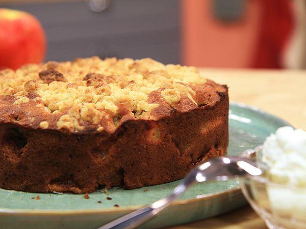 Irländsk apple crumble cake   Recept.nu