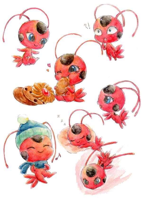 Miraculous Ladybug ミラクルス・レディバグ Adrien , Chat noir ,Lady bug and Marinette <3