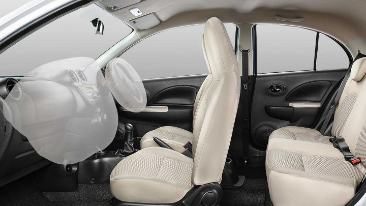 #‎MicraActive‬ Safety Features Dual Airbags ‪#‎MicraSafetyFeatures‬ : www.shaktinissan.com