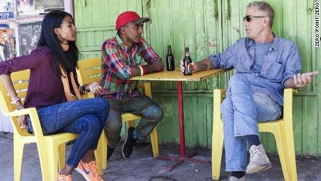 Marcus Samuelsson and his wife, Maya, take Anthony Bourdain back to Ethiopia, to the towns where they were born -- and tell him their fascinating stories.