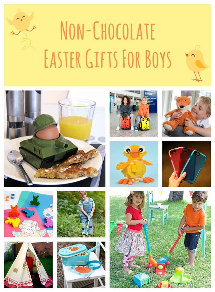 Non-Chocolate Easter Gifts for Boys. Click here to see more: http://withlovefromlou.co.uk/2016/03/easter-gifts-for-boys/