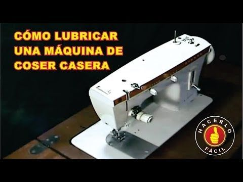 2 DE 2 COMO HACER LIMPIEZA Y ENGRASADO DE MAQUINA DE COSER, BASICO - YouTube