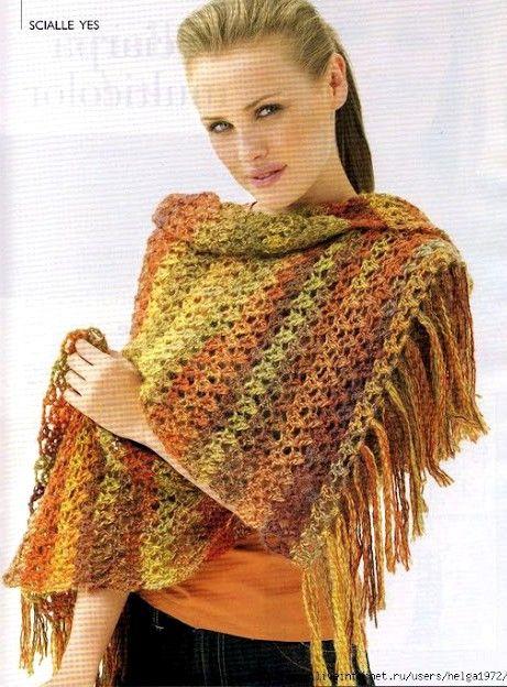 Crochet Shawl Graph