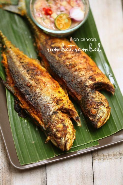 Cencaru Sumbat Enak Makanan Sehari Hari Masakan Malaysia Resep Ikan Bakar