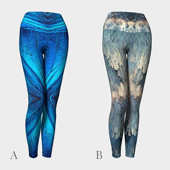 Abstract yoga leggingsyoga pantsyoga