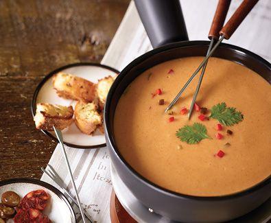Mexican Arla Dofino Inferno Havarti Fondue #appetizer #recipe