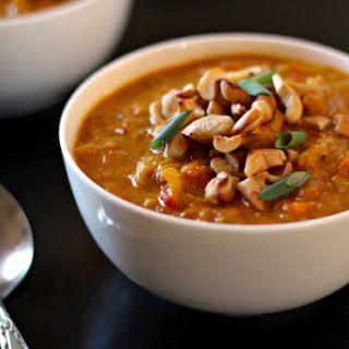 Indian Mulligatawny Soup.