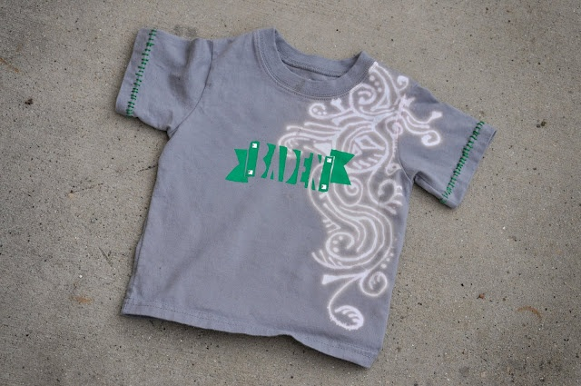 guy-tee: Kids Shirts, Freezers Paper, Guys Tees, Bleach Pens, Tough Guys, Paper Stencil, Cool Ideas, Diy Shirts, T Shirts