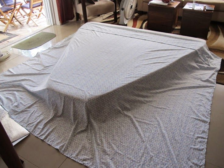Not Quite Seasoned, but Very Well Salted: Making V-Berth Sheets