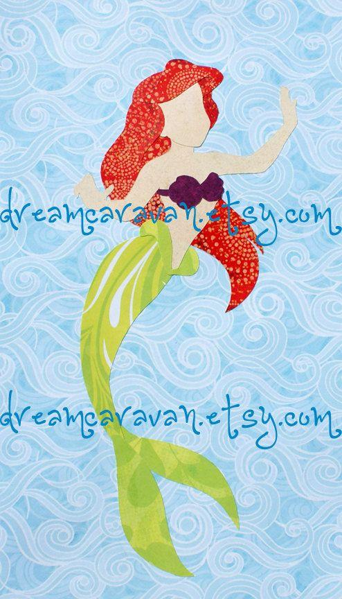 CUSTOM Paper Princess The Little Mermaid by dreamcaravan on Etsy, $18.00