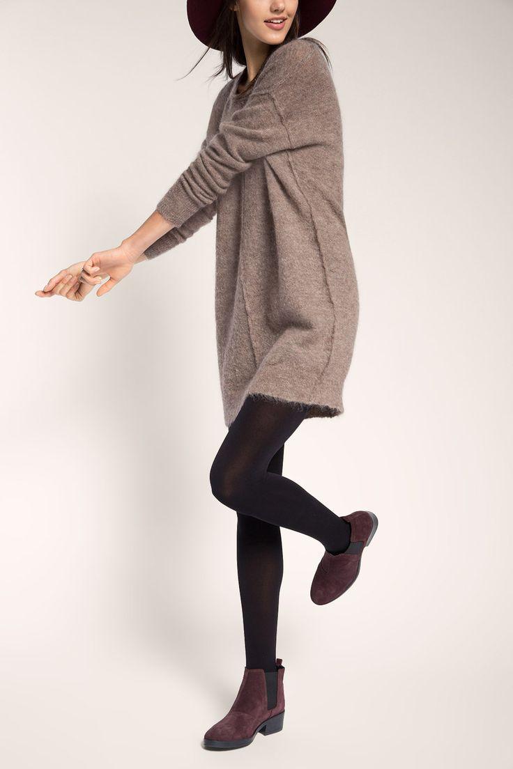 Lässiges #Pulloverkleid in #Braun von #Esprit. Das #Kleid zaubert einen coolen #Casual-#Style. ♥ ab 69,99 €