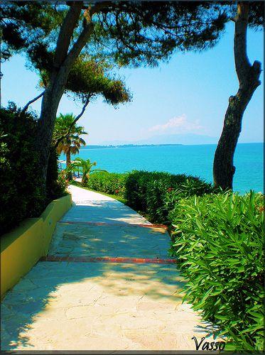 Nikopolis #Preveza #Epirus #Greece tvisitGreece  photo via: vasso miloum Fantastic beach and great taverna.