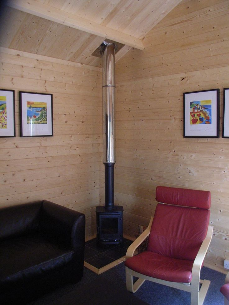 Log burner - Log cabins