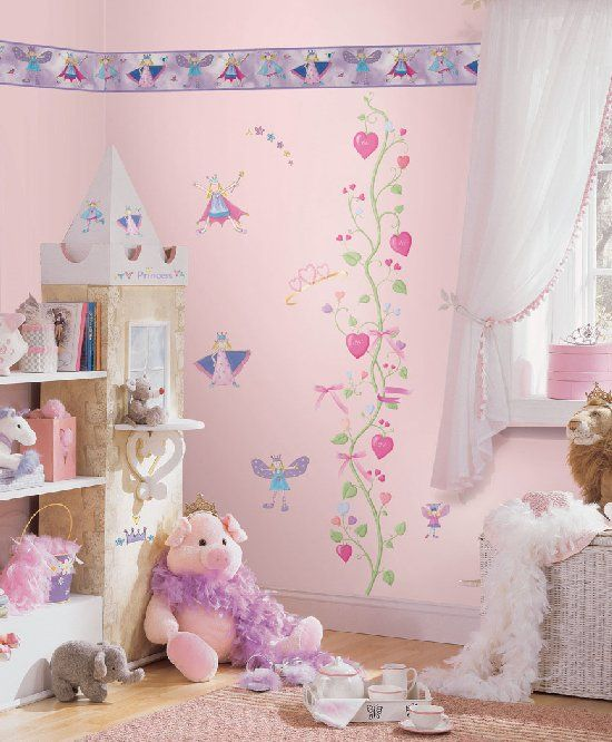 Fairy Princess Complete Room Wall Sticker Package - Kids Wall Decor Store