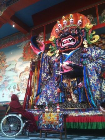 Mahakala + Tenga Rinpoche