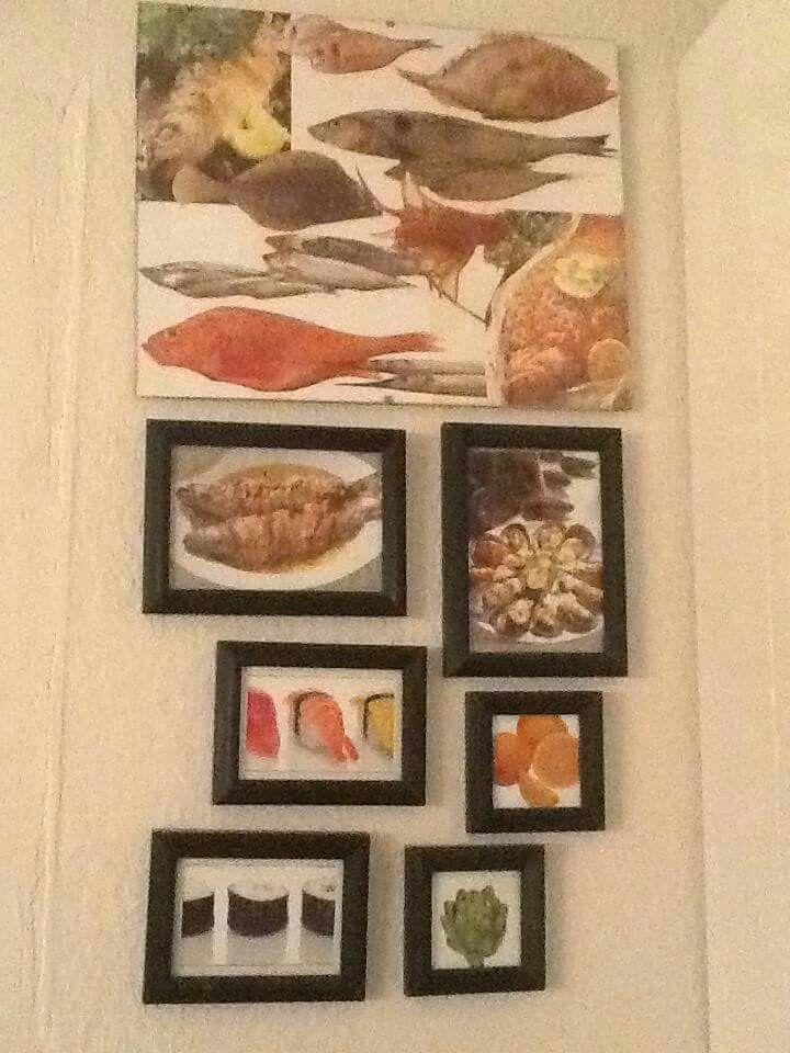 Frames with food - DIY