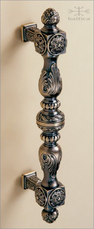 handcrafted door pull - Manifesto door pull 32.8cm - Antique Bronze - Custom Door Hardware  www.balticacustomhardware.com