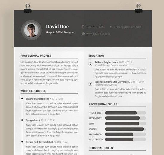 Best 25+ Basic resume examples ideas on Pinterest Employment - basic resume samples