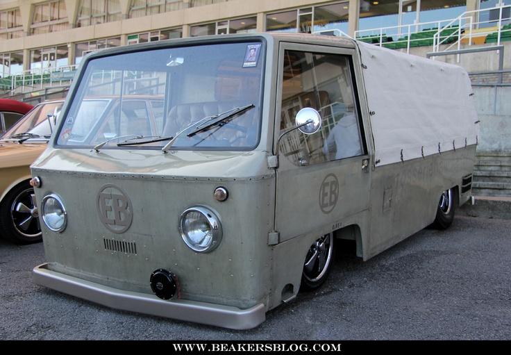evil bens mad   coachbuilt milk float based   vw type  splitscreen chassis stuff