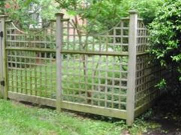 Outdoor Lattice Fence Panels | Trellis Fence