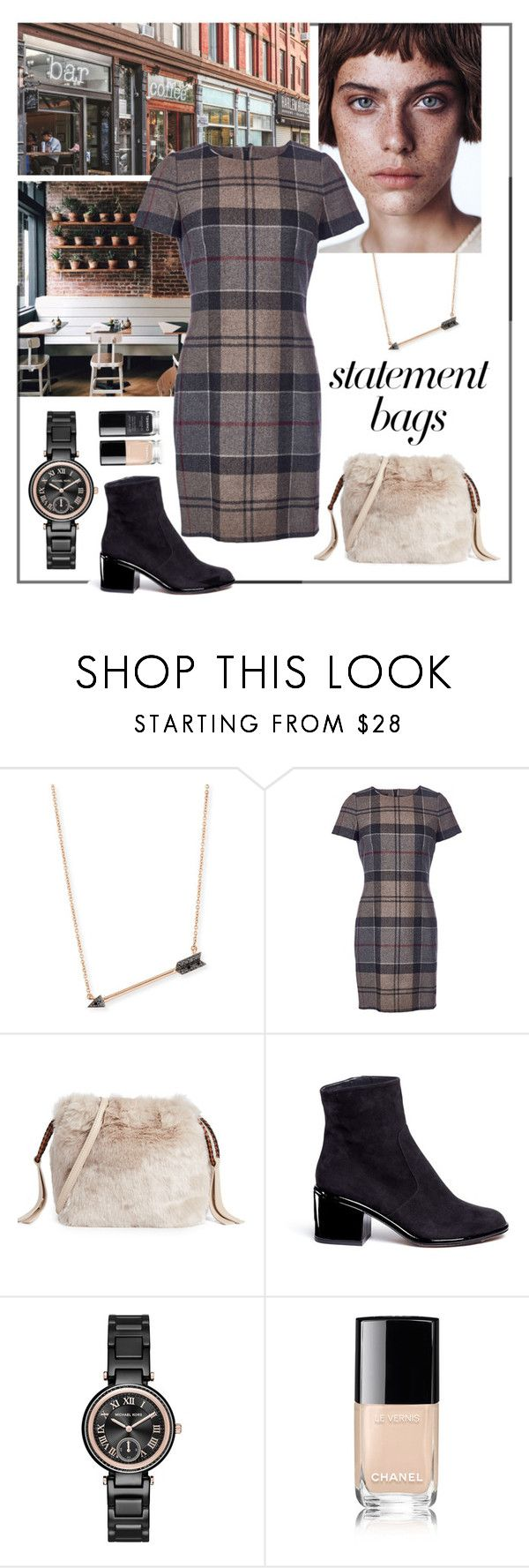 """""""Statement bags"""" by iojeni ❤ liked on Polyvore featuring Sydney Evan, Coffee Shop, Barbour, Furla, Robert Clergerie, Michael Kors and Chanel"""