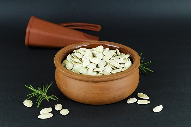 The Pumpkin Seeds Health Benefits. Pumpkin seeds promotes feeling of happiness, fights cancer, aids in sleep, heals wound faster, controls blood sugar levels and provides other important nutirents.