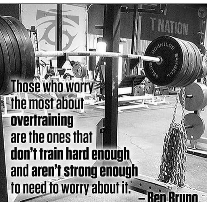 Overtraining fitness quotes bodybuilding motivation - Powerlifting quotes ...