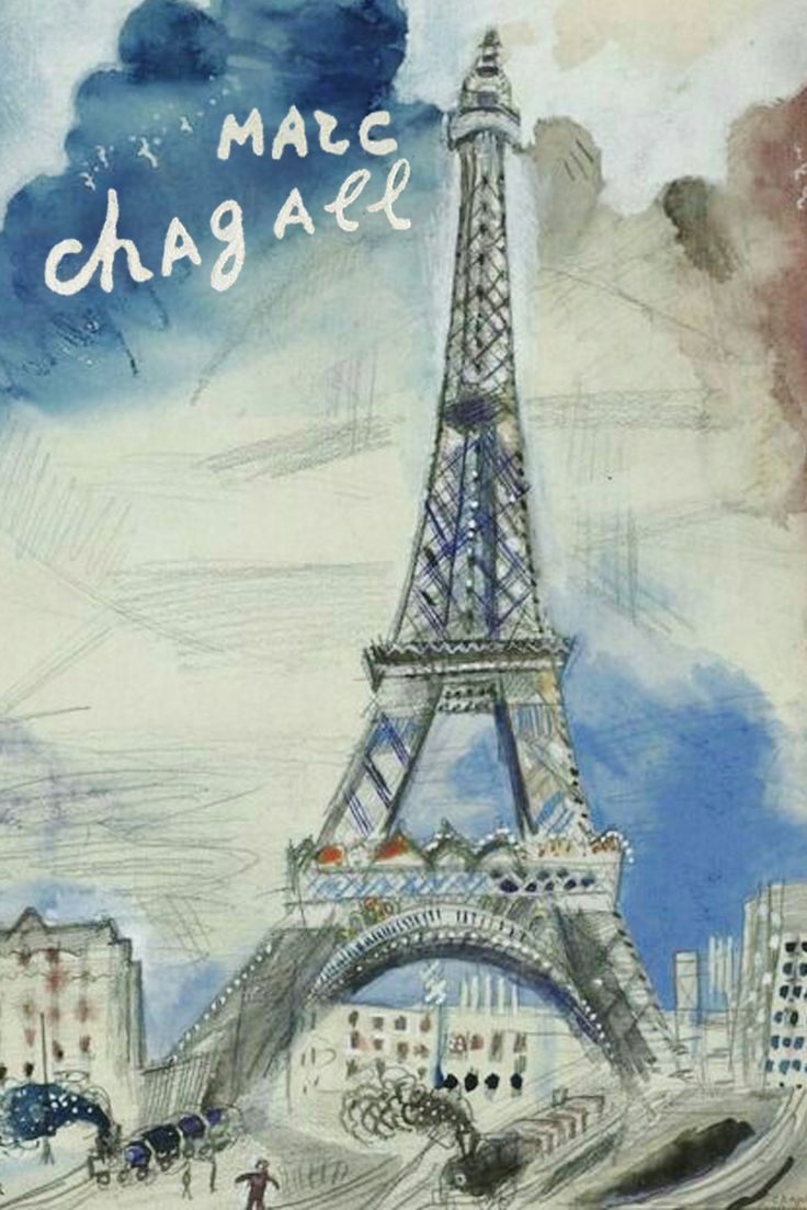 960 best images about chagall on pinterest oil on canvas for Marc chagall paris vu de ma fenetre