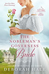 "When I republished the series, I combined ""The Viscount Meets His Match"" and The Baron's Governess Bride into one volume retitled The Nobleman's Governess Bride. I love the new cover by The Killion Group!"
