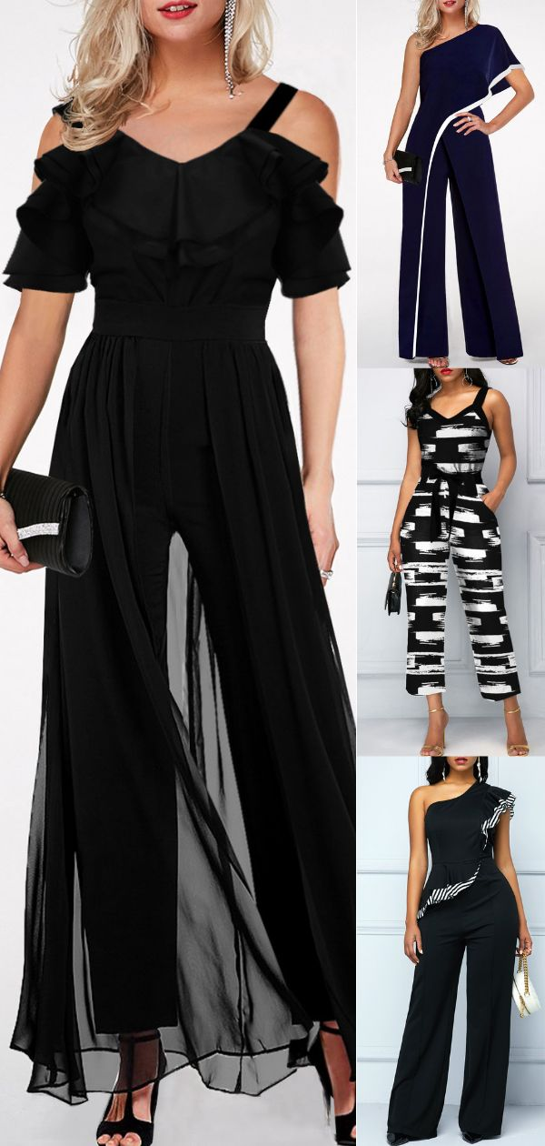Jumpsuits are in trend this season. Women can rock this look effortlessly with t…