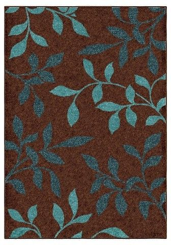 """Orian Rugs Dazzling Promise Transitional Area Rug - Brown (5'2"""" x 7'6"""")"""
